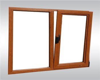 木塑铝复合窗